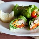 These colorful and crunchy fresh Veggie Spring Rolls are the healthy snack, appetizer or meal you will love! And, they are easy to prepare! Wedding Finger Foods, Veggie Spring Rolls, Wedding Reception Food, Wedding Ideas, Salad Wraps, How To Cook Shrimp, Low Carb Recipes, Yummy Food, Yummy Eats