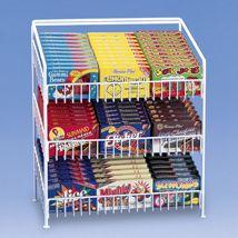 3 Shelf Countertop Candy Display Rack