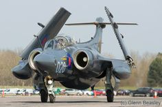 Photo taken at Bruntingthorpe in England, United Kingdom on May Air Force Aircraft, Navy Aircraft, Fighter Aircraft, Fighter Jets, Military Jets, Military Aircraft, Uk Navy, Royal Navy, Blackburn Buccaneer