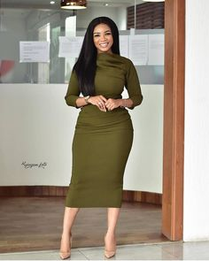 How to Look Classic Like Serwaa Amihere - 30 Outfits Classy Work Outfits, 30 Outfits, Classy Dress, Chic Outfits, Dress Outfits, Office Outfits, Ladies Outfits, Office Dresses, Curvy Outfits