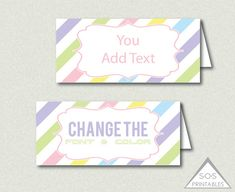 Printable kids easter treat tags goodie bag label toppers happy easter goodie bag labels easter printables goodie bag topper editable goodie bag add your own text editable pdf file easter favors negle Image collections