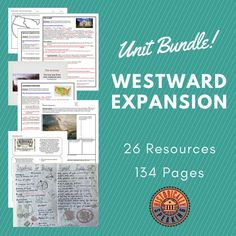 Everything you need to teach about western expansion in the U.S..