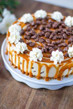 kinuski drip cake caramel