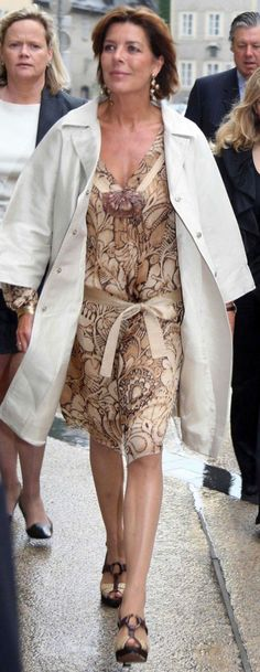 Princess Caroline of Monaco Grace Kelly, Patricia Kelly, Caroline Von Monaco, Kelly Monaco, Monte Carlo, Adele, Monaco Princess, Style Royal, Suits For Women