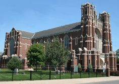 St. Alphonsus Catholic Church in Dearborn Michigan. GORGEOUS church. I would LOVE to get married here some day....