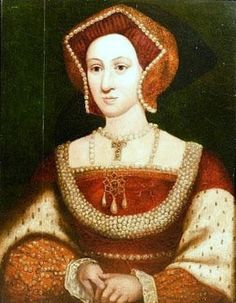 A posthumous portrait of Jane Seymour as she is depicted in the Whitehall Dynastic mural.