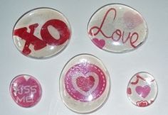 A quick, inexpensive Valentine gift for teachers, grandparents, aunts, uncles, friends ...