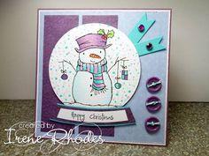 DTGD12 Purple Snowman