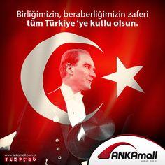 Birliğimizin, beraberliğimizin zaferi tüm Türkiye'ye kutlu olsun... #ANKAmall