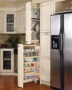 Rev A Shelf 432 Series Tall Filler Pull Out Organizer With Adjule Wood Shelves At Atg S Browse Our Cabinet