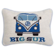 Jonathan Adler Big Sur Needlepoint Pillow  $98.00