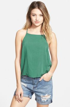GLAMOROUS High Neck Camisole available at #Nordstrom