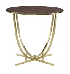 Bernhardt Furniture | Jet Set Collection | 356-126 Round End Table | MacQueen Home
