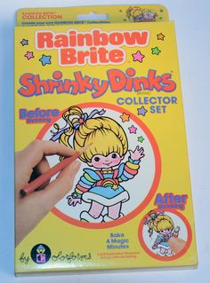 Shrinky Dinks - Do you remember watching them through the oven door as they would magically shrink before your eyes?
