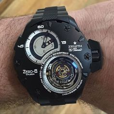 Zenith Zero G Tourbilon at $545,000.