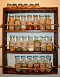 Check out these creative spice storage ideas for small kitchens. Plus get a free printable spice storage chart & learn which spices to use in your dish. Spice Storage, Diy Kitchen Storage, Diy Storage, Kitchen Decor, Storage Ideas, Spice Racks, Kitchen Organization, Kitchen Ideas, Pantry Ideas