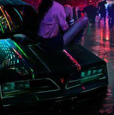 Digital Paintings: Tony Skeor - Düstere Impressionen mit Neon-Charme: https://www.langweiledich.net/digital-paintings-tony-skeor/