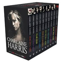 Sookie Stackhouse Series - Love this series!  It's like a...romantic murder mystery comedy with vampires and other beasts...  Anyway, they're great fun to read!