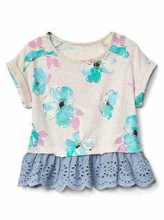 Toddler Girls' Tops: pleated tops, turtleneck tops, ruffle tops at babyGap | Gap