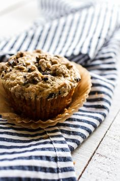 Make a batch of Vanilla Muffins with this healthy make-ahead breakfast recipe.