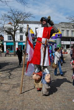 St George protected Aylesbury from the fire breathing dragon.