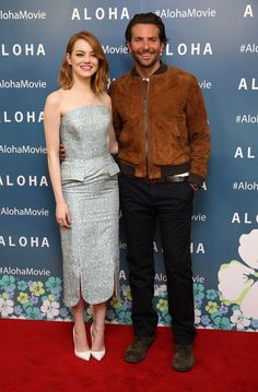 Bradley Cooper Goes Casual in Brown Suede Coach Bomber Jacket for Aloha Screening