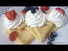 YouTube Cupcakes, Brunch, Pudding, Breakfast, Desserts, Food, Youtube, Tasty Food Recipes, Sweets