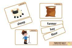 on the farm flashcards-01