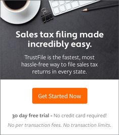 Sales Tax Filing Made Easy