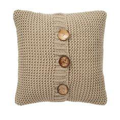 Chunky Knit Cushion | Dunelm Mill