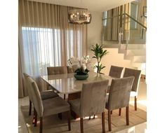 outstanding dining room table decor ideas 16 < Home Design Ideas Dining Room Table Decor, Dining Room Lighting, Dining Room Design, Dining Area, Dining Chairs, Small Dining, Dinning Room Curtains, Luxury Dinning Room, Home Room Design