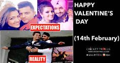 #HappyValentineDay #happyvalentineweekday #INDvsSL #T20I #TeamIndia Cricket Trolls  Happy Valentine's Day :)  http://www.crickettrolls.com/2016/02/13/happy-valentines-day-14th-february/