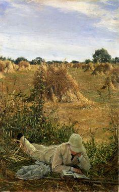 Sir Lawrence Alma-Tadema:  Degrees in the Shade