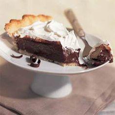Double-Chocolate Cream Pie | MyRecipes.com