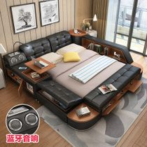 Di Yu Xuan leather tatami beds leather beds double beds 1