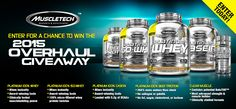 Enter to win the MuscleTech 2015 Overhaul Giveaway!