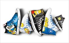 Converse Has More Springfield in Its Step With New Simpsons Sneakers | Adweek