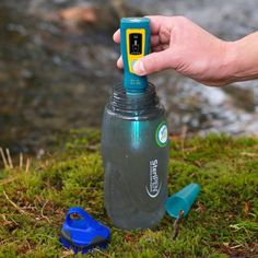 SteriPEN Ultra water purifier eliminates over 99.9% of bacteria in up to 50 litres of water in just 48 seconds!