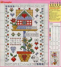 Cross Stitch House, Cross Stitch Kitchen, Cross Stitch Needles, Cross Stitch Heart, Cross Stitch Samplers, Cross Stitch Flowers, Cross Stitching, Cross Stitch Embroidery, Embroidery Patterns
