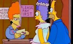 Ayudante en minigolf en el capítulo 'Me casé con Marge'