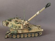 Army Vehicles, Armored Vehicles, Plastic Model Kits, Plastic Models, Heroes And Generals, Tactical Truck, M109, Tank Armor, Model Tanks