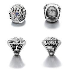 2014 Super Bowl Champions New England Patriots championship ring