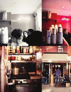 Abraco East Village, NYC for the best brazilian coffee in the city.  New York City as seen through Yael's eyes.