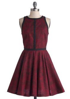 Minimalist is More Dress in Wine, $82.99, Modcloth | 30 Rad Plus Size Holiday Party Dresses Under $100
