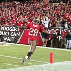 Warrick Dunn; Bucs vs Rams 12/18/2000