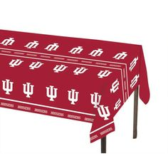 Creative Converting Indiana University Plastic Table Cover 54 by 108Inch -- Check this awesome product by going to the link at the image. (This is an affiliate link)