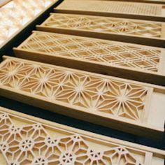 Japanese woodwork: http://www.core77.com/blog/design_festivals/interiorlifestyle_tokyo_traditional_japanese_woodwork_abound_22676.asp