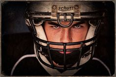 Football senior portrait by Amanda Reed How to Create Success with Amanda Reed Photography