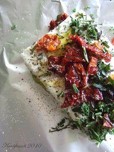 Kochfrosch: Veggie-Grillen #1: Fetapäckchen