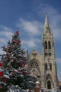 College Church ready for the holidays